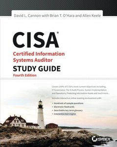 CISA: Certified Information Systems Auditor Study Guide, 4/e(Paperback)-cover