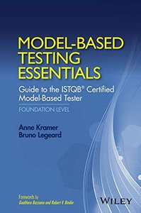 Model-Based Testing Essentials - Guide to the ISTQB Certified Model-Based Tester - Foundation Level(Hardcover)-cover