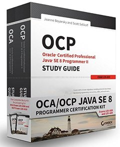 OCA / OCP Java SE 8 Programmer Certification Kit: Exam 1Z0-808 and Exam 1Z0-809 (Paperback)-cover