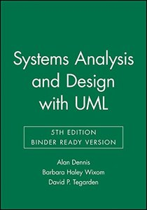 Systems Analysis and Design with UML, 5/e(Loose Leaf)-cover
