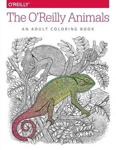 The O'Reilly Animals: An Adult Coloring Book(Paperback)-cover