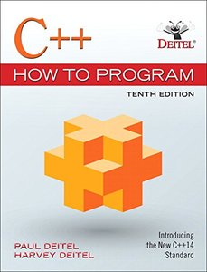 C++ How to Program, 10/e (Paperback)(美國原版)-cover