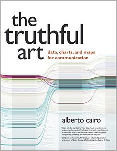 The Truthful Art: Data, Charts, and Maps for Communication(Paperback)-cover