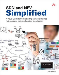 SDN and NFV Simplified: A Visual Guide to Understanding Software Defined Networks and Network Function Virtualization(Paperback)-cover