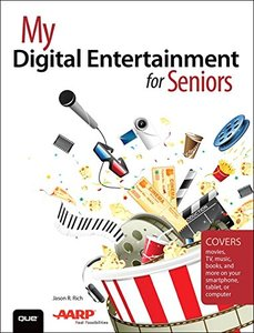 My Digital Entertainment for Seniors(Paperback)-cover