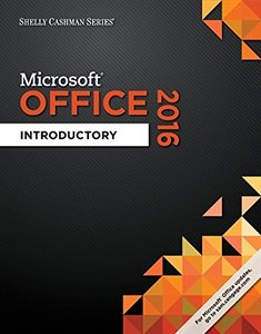 Shelly Cashman Microsoft Office 365 & Office 2016: Introductory(Spiral-bound)-cover