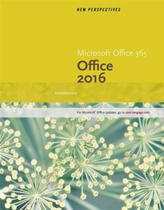 New Perspectives Microsoft Office 365 & Office 2016: Introductory(Spiral-bound)-cover
