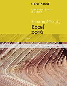 New Perspectives Microsoft Office 365 & Excel 2016: Introductory(Loose Leaf)-cover