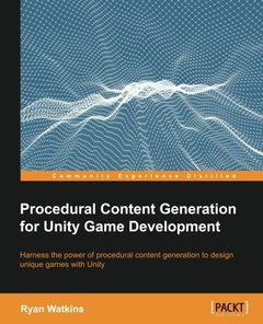 Procedural Content Generation for Unity Game Development(Paperback)-cover