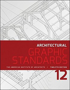 Architectural Graphic Standards, 12/e (Paperback)-cover
