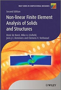 Nonlinear Finite Element Analysis of Solids and Structures(Hardcover)-cover