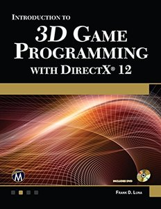 Introduction to 3D Game Programming with DirectX 12 ( Paperback)-cover