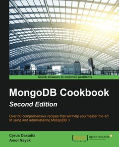 MongoDB Cookbook, 2/e(Paperback)-cover