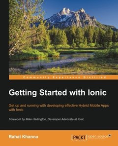 Getting Started with Ionic(Paperback)-cover