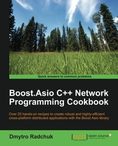 Boost.Asio C++ Network Programming Cookbook (Paperback)-cover