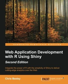 Web Application Development with R Using Shiny, 2/e(Paperback)-cover