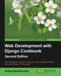 Web Development with Django Cookbook, 2/e(Paperback)-cover