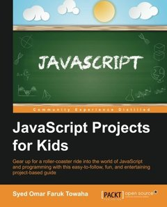 JavaScript Projects for Kids(Paperback)-cover