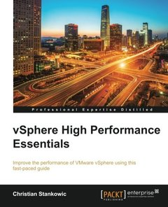 vSphere High Performance Essentials(Paperback)-cover