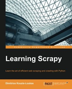 Learning Scrapy (Paperback)-cover