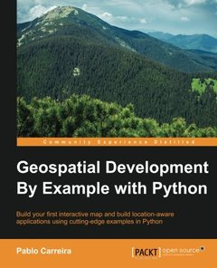 Geospatial Development By Example with Python(Paperback)-cover