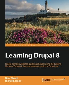 Learning Drupal 8(Paperback)-cover