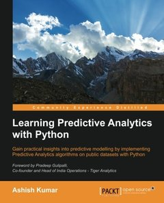Learning Predictive Analytics with Python(Paperback)-cover