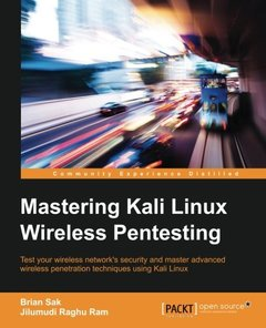 Mastering Kali Linux Wireless Pentesting(Paperback)-cover