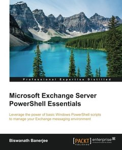 Microsoft Exchange Server PowerShell Essentials(Paperback)-cover