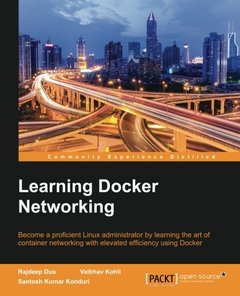 Learning Docker Networking(Paperback)-cover