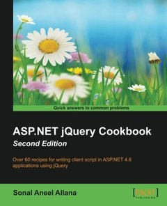 ASP.NET jQuery Cookbook, 2/e(Paperback)-cover