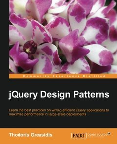 jQuery Design Patterns(Paperback)-cover