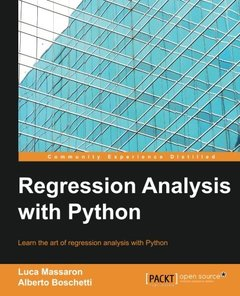 Regression Analysis with Python(Paperback)-cover