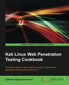 Kali Linux Web Penetration Testing Cookbook(Paperback)-cover