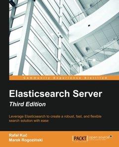 Elasticsearch Server, 3/e(Paperback)-cover