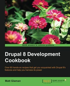 Drupal 8 Development Cookbook(Paperback)-cover