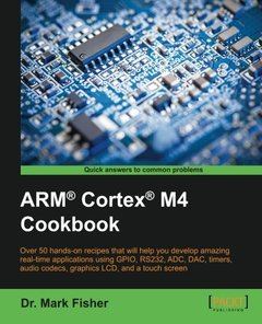 ARM Cortex M4 Cookbook(Paperback)-cover