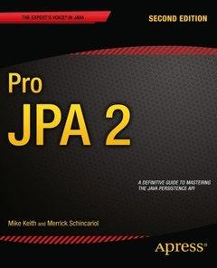 Pro Jpa 2, 2/e(Paperback)-cover