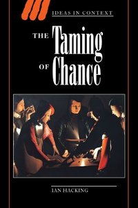 The Taming of Chance (Paperback)-cover