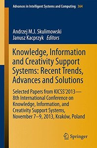 Knowledge, Information and Creativity Support Systems(Paperback)-cover