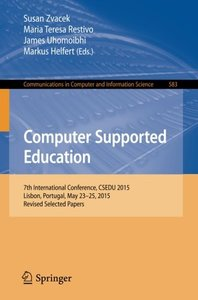Computer Supported Education(Paperback)-cover