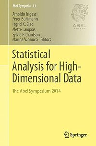 Statistical Analysis for High-Dimensional Data(Hardcover)-cover