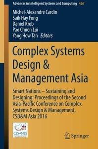 Complex Systems Design & Management Asia(Paperback)