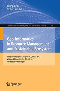 Geo-Informatics in Resource Management and Sustainable Ecosystem(Paperback)-cover