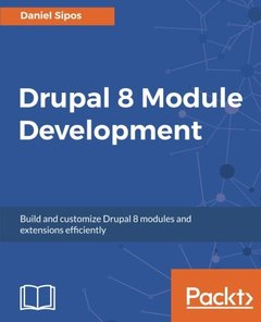 Drupal 8 Module Development(Paperback)-cover