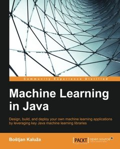 Machine Learning in Java(Paperback)-cover