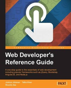 Web Developers Reference Guide(Paperback)-cover