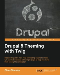 Drupal 8 Theming with Twig(Paperback)-cover