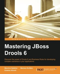 Mastering JBoss Drools 6 for Developers (Paperback)-cover