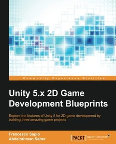 Unity 2D Game Development Blueprints(Paperback)-cover